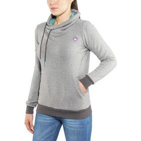 E9 Terry Hoodie Women grey-mel